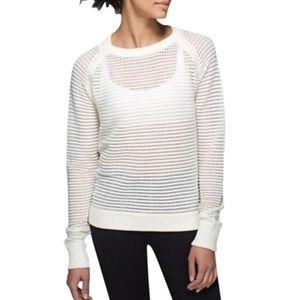 Lululemon Devi Crew Pointelle Sweater
